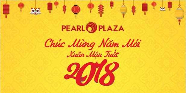 Lịch nghỉ Tết Nguyên Đán TTTM Pearl Plaza