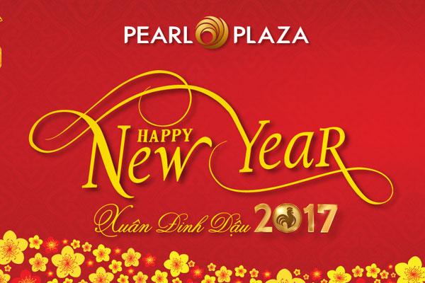 Thông báo về Lịch nghỉ Tết Âm lịch 2017 tại TTTM Pearl Plaza