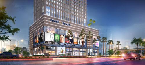 Khu phức hợp Pearl Plaza góp phần vào sự hồi phục của kinh tế thành phố